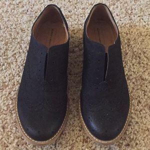 MELEOSE AND MARKET: No-Lace Oxford Shoes
